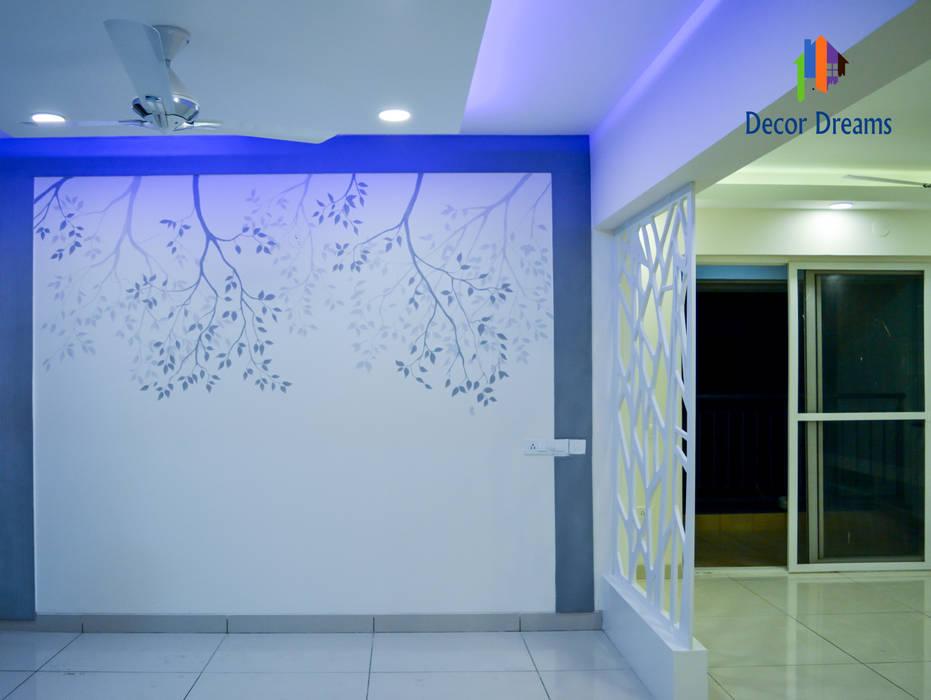SNN Raj Serenity, 3 BHK - Mr. Ramprasath:  Dining room by DECOR DREAMS