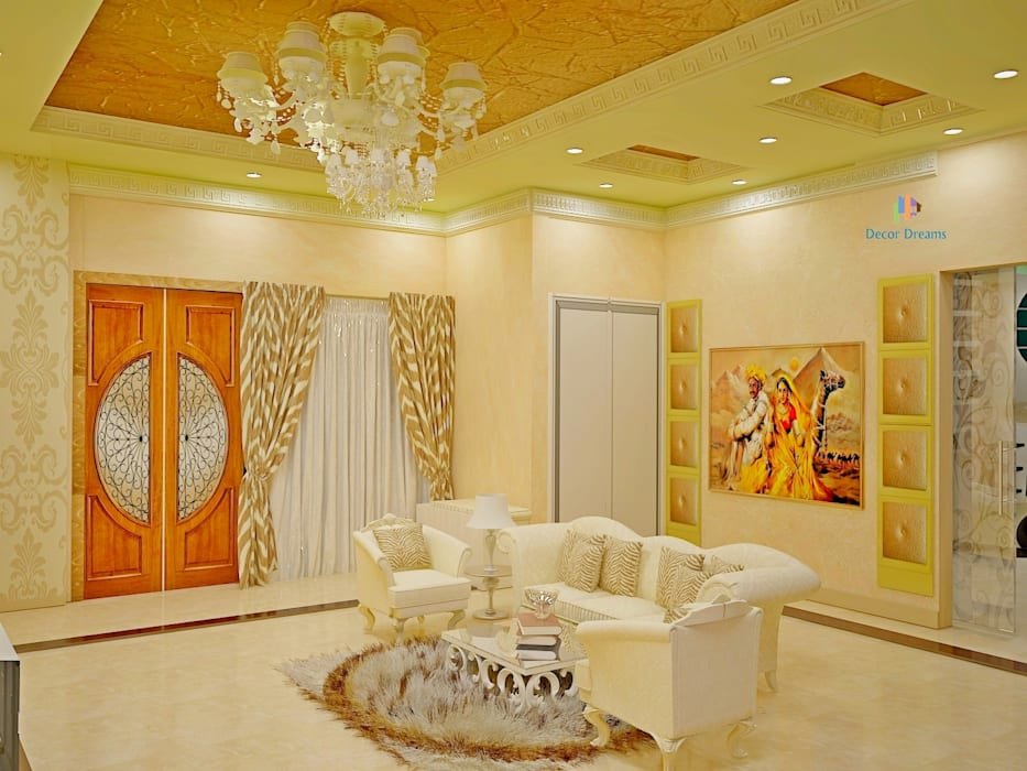 Living room by DECOR DREAMS,