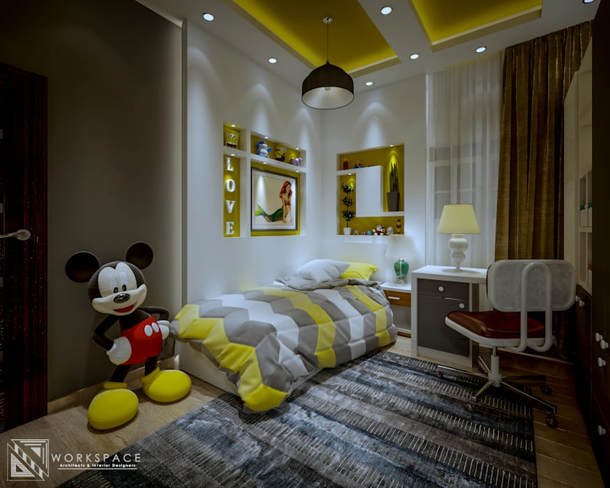 Kid's space | bedroom: bedroom by workspace architects