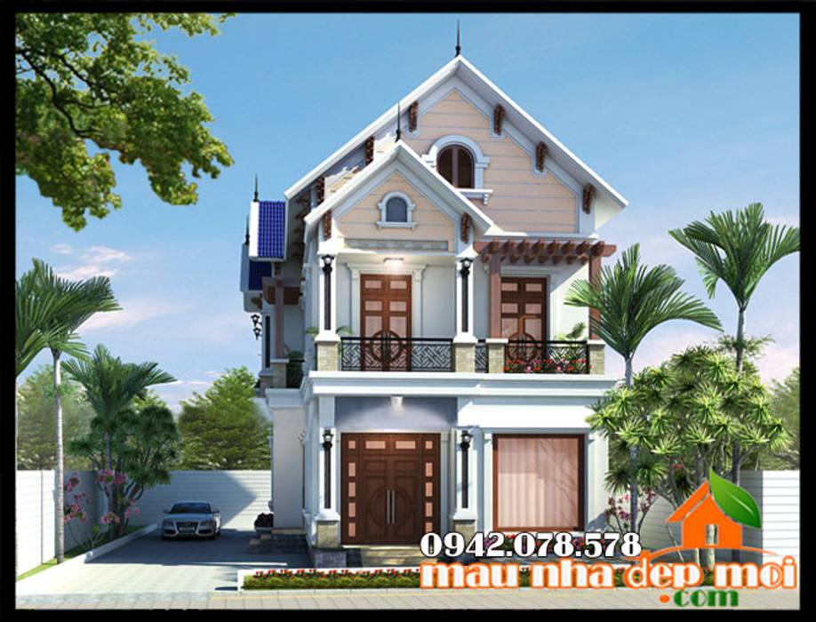 Phong cách kiến trúc giản dị khiêm tốn, nhẹ nhàng , khoáng đạt phù hợp phong tục tập quán dân tộc bởi Công ty TNHH TKXD Nhà Đẹp Mới Châu Á