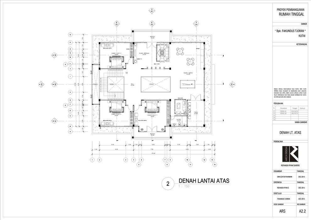 Rumah Tinggal Mr. Fakundus Tjoran, Kutai Kartanegara, Kaltim Oleh Artisia Studio