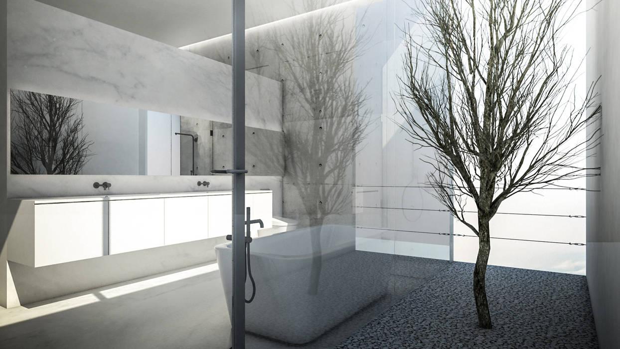 S-House Kamar Mandi Minimalis Oleh KERA Design Studio Minimalis