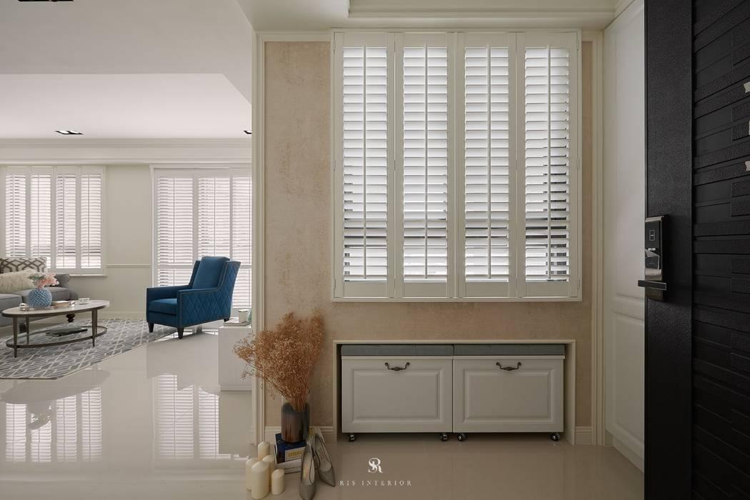 Sunny.Boudoir:  窗戶與門 by 理絲室內設計有限公司 Ris Interior Design Co., Ltd.,