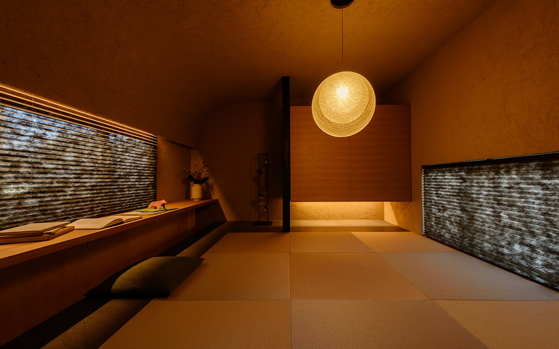 Ruang Multimedia oleh FANFARE CO., LTD, Eklektik