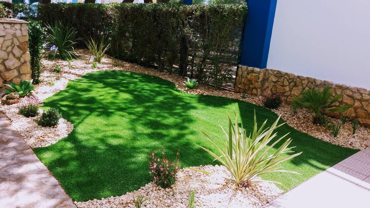 Relva Artificial Jardins minimalistas por JARDIMGARVE Minimalista