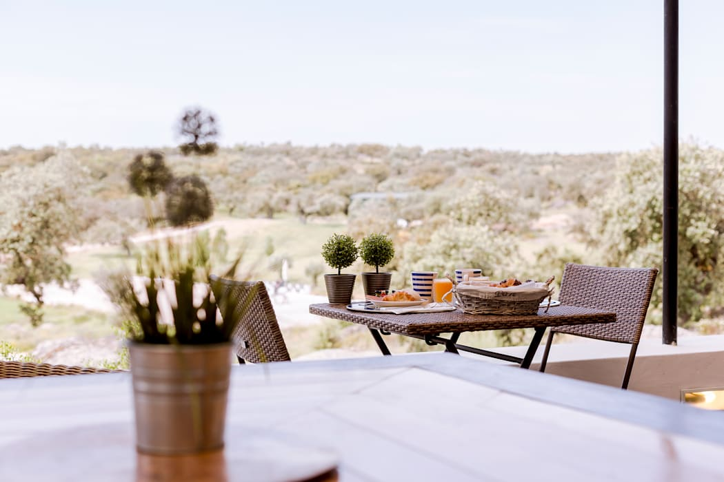 Terrasse de style  par Ivo Santos Multimédia, Rural