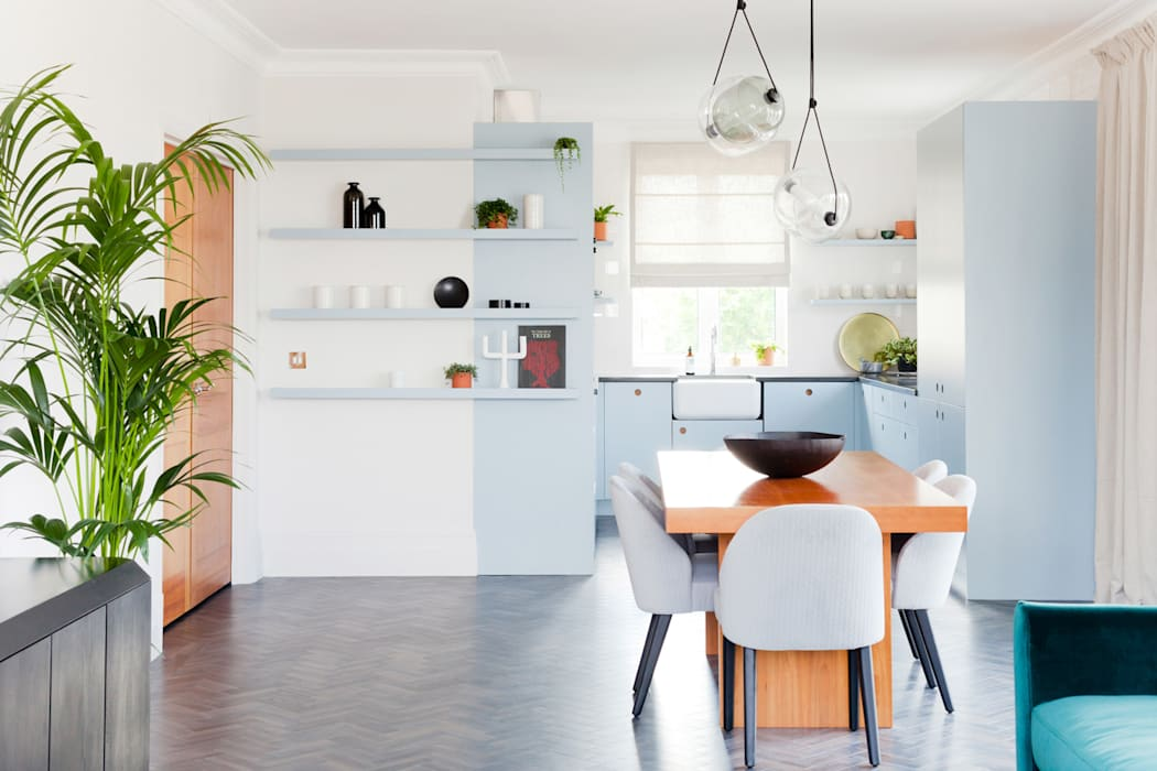 Kew Penthouse:  Kitchen by NAKED Kitchens