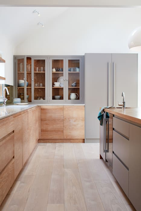 Brancaster Marshes: modern Kitchen by NAKED Kitchens