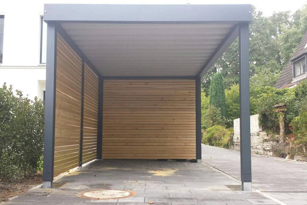 Stahlcarport Frontansicht:  Carport von Carport-Schmiede GmbH + Co. KG