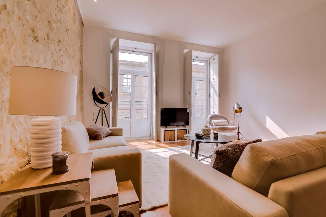 Projekty,  Salon zaprojektowane przez Ivo Santos Multimédia