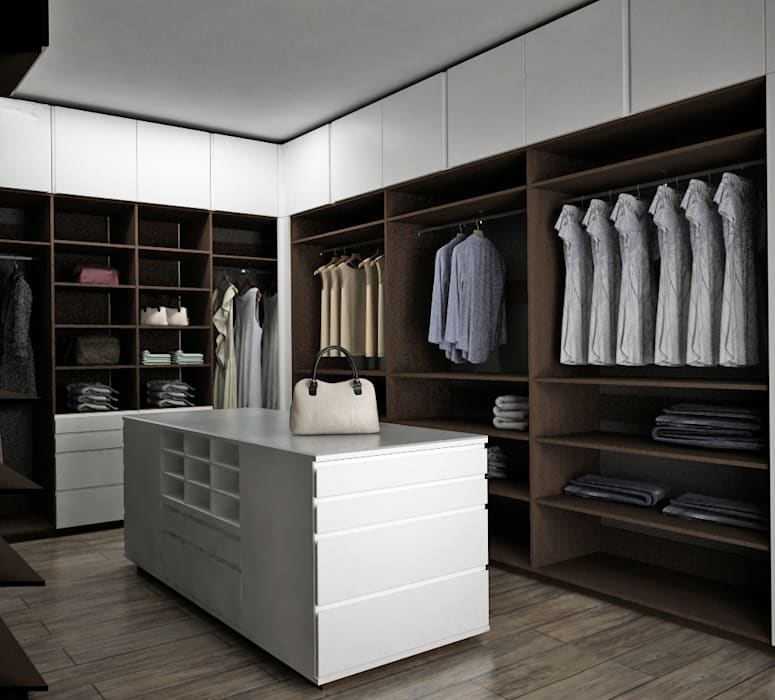 Dressing room by Toque De Menta