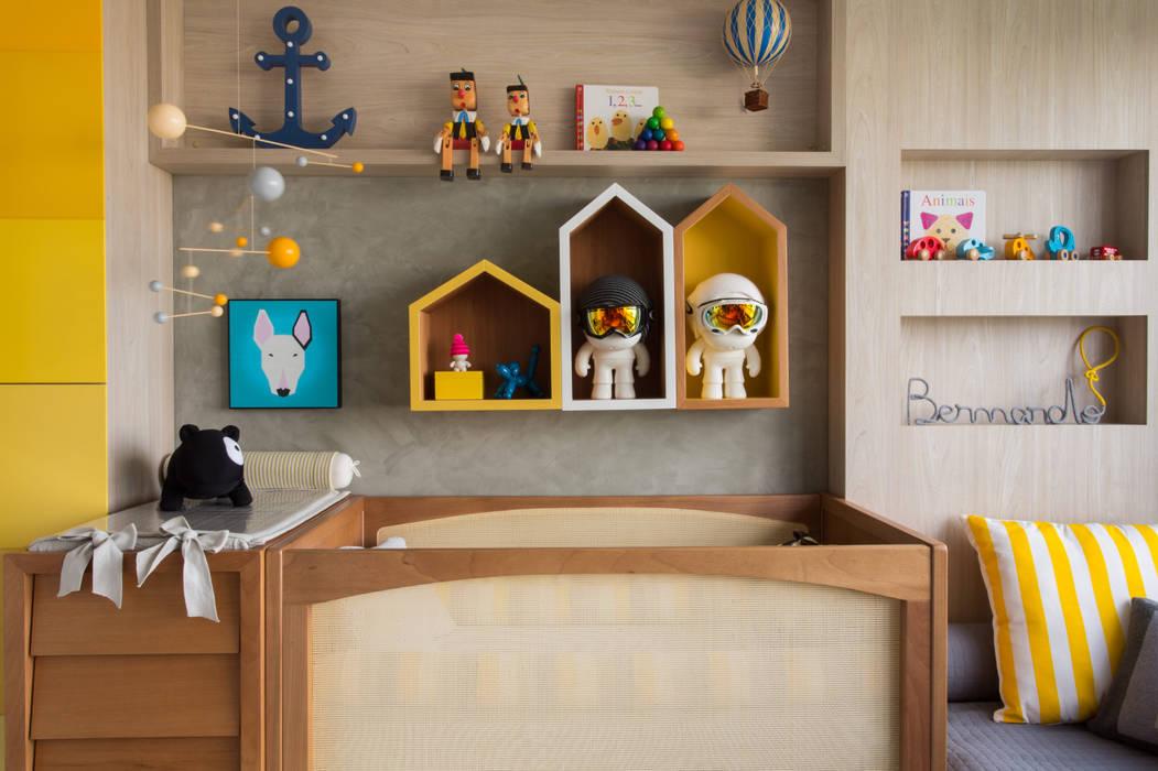Projekty,  Pokój dla dziecka zaprojektowane przez Pri Martins Arquitetura