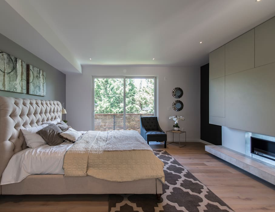 Modern style bedroom by ARCHI-TEXTUAL, PLLC Modern
