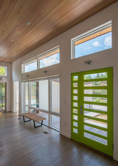 ARCHI-TEXTUAL, PLLC 现代客厅設計點子、靈感 & 圖片