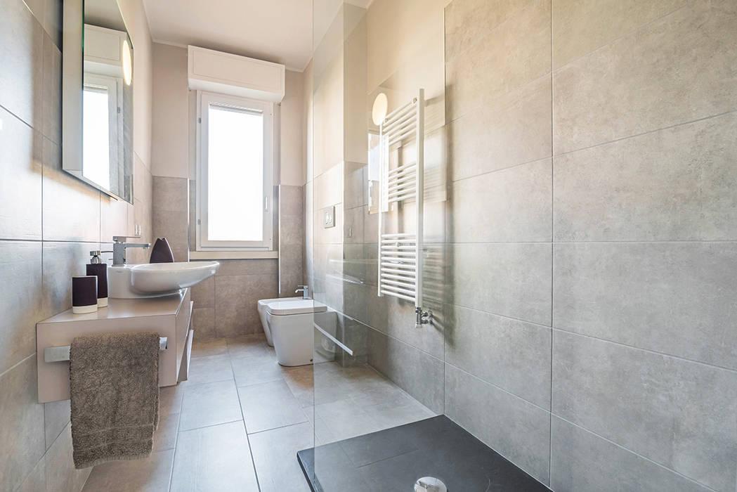 Ristrutturazione appartamento milano, pioltello: bagno in stile in ...