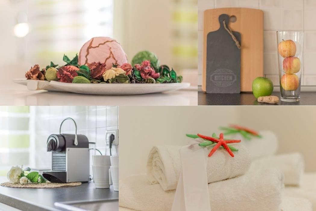 Airone, Home Staging per la Microricettività: Spa in stile in stile Minimalista di Anna Leone Architetto Home Stager