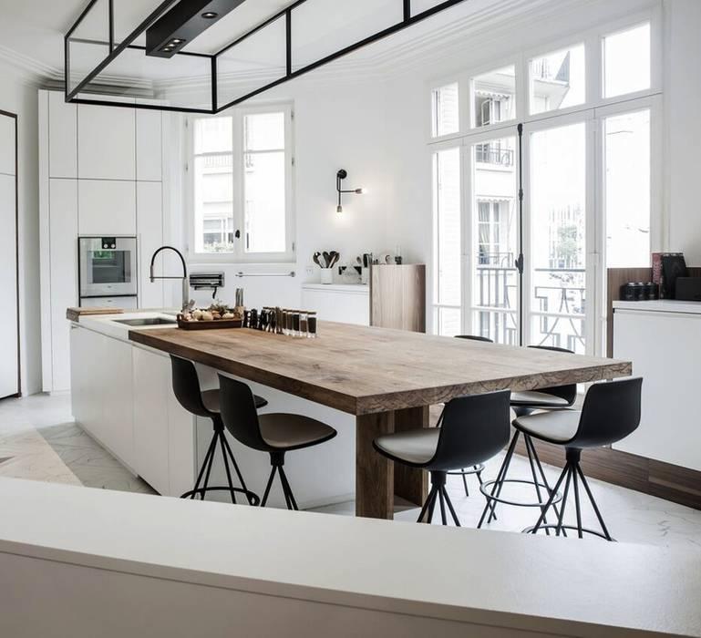 Eclairage de la cuisine: éléments de cuisine de style par ...