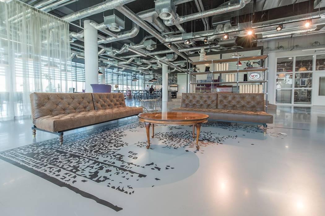 Het Nieuwe Kantoor : Vol energie aan het werk in het nieuwe kantoor van taqa de