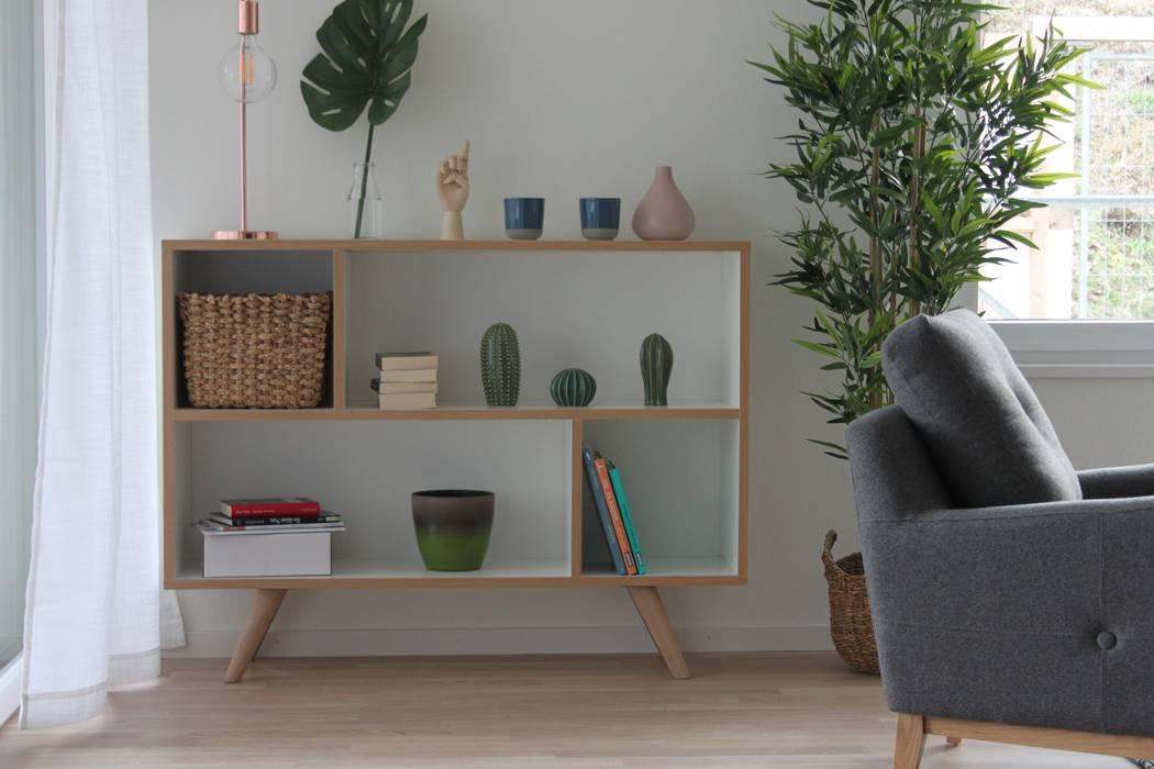Wohnzimmer:  Wohnzimmer von Home Staging Nordisch