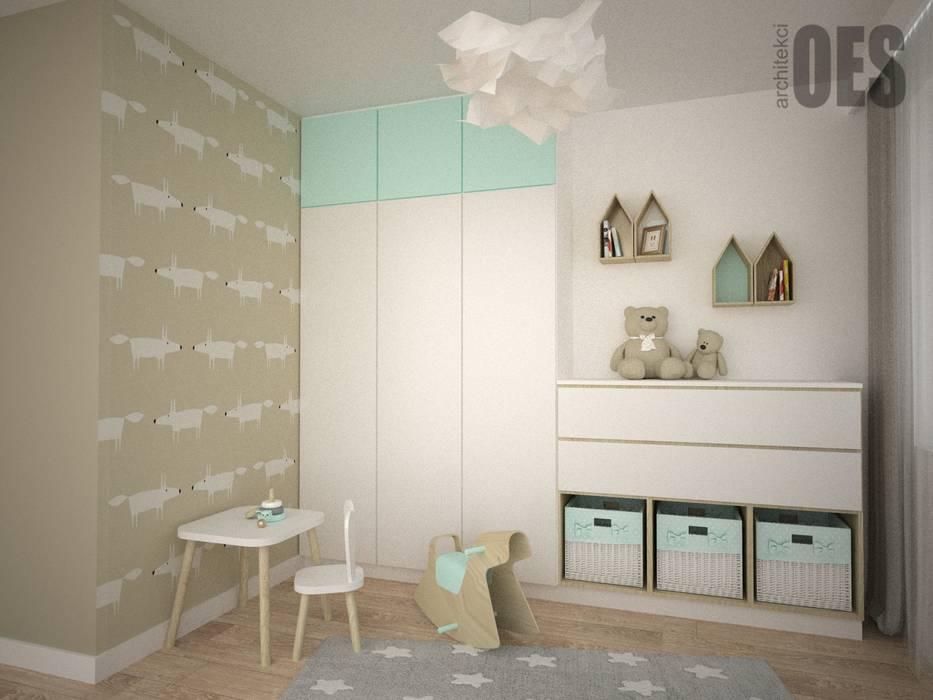 OES architekci Dormitorios infantiles de estilo moderno Cobre/Bronce/Latón Ámbar/Dorado