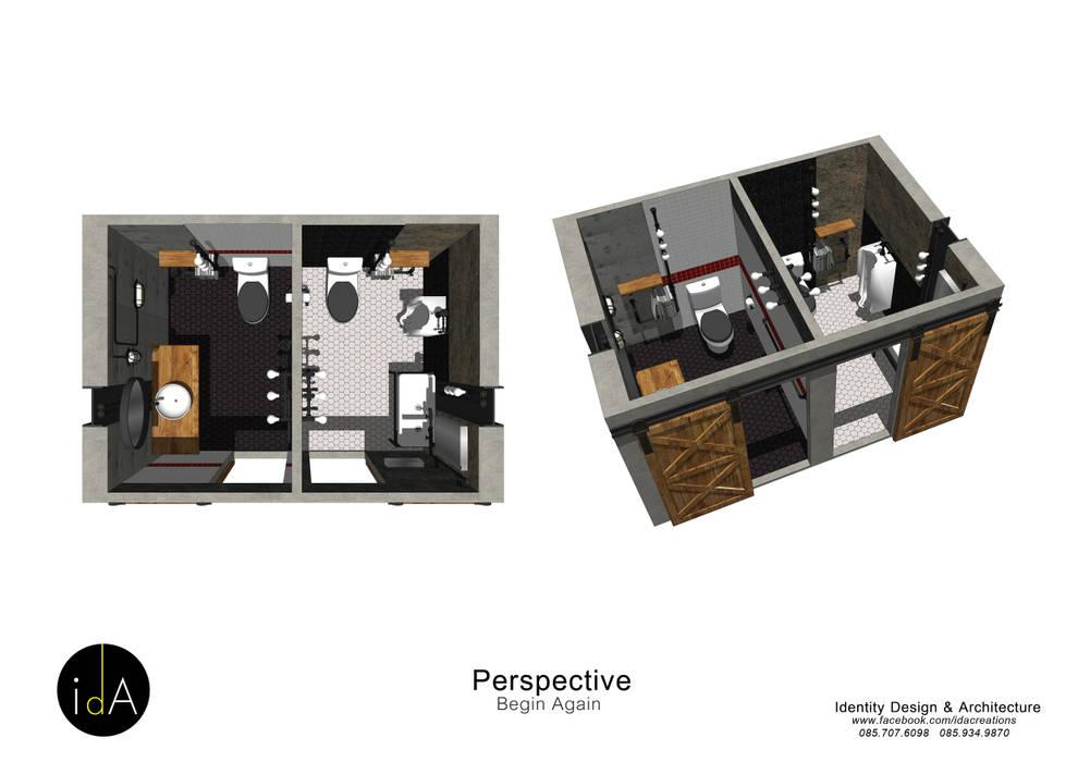 ร้านกาแฟ  Begin Again:  เรือนกระจก โดย Identity Design & Architecture Part.,Ltd,