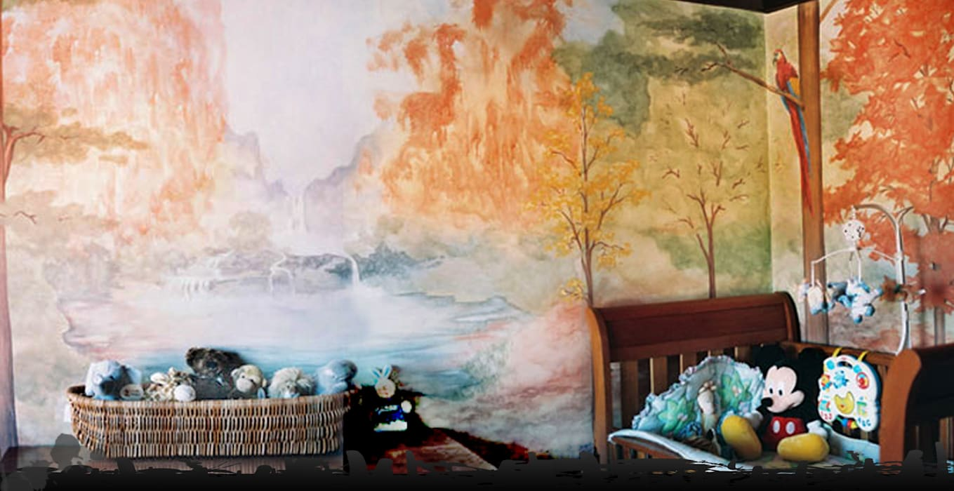 Child's bedroom von worldmural Modern