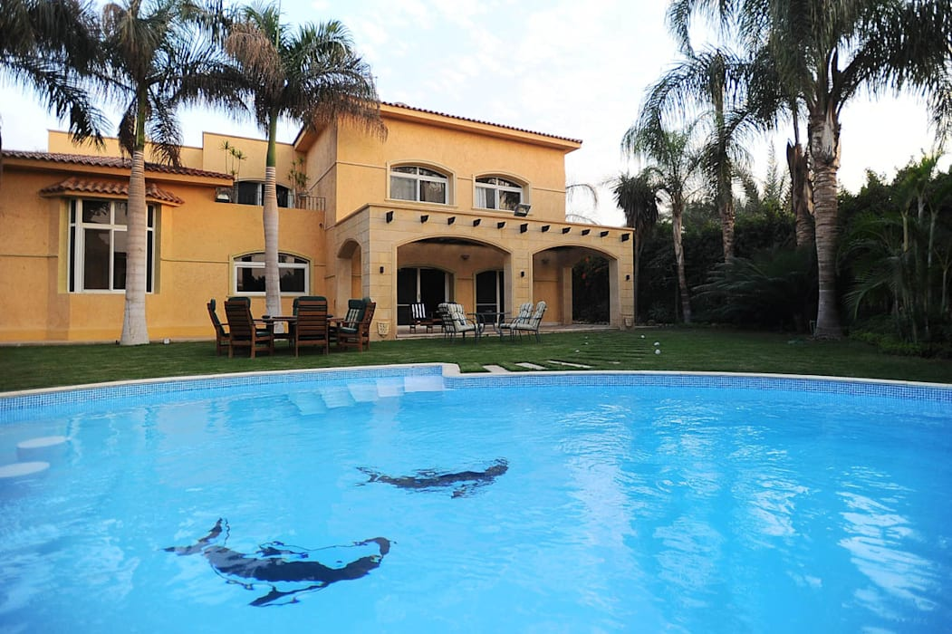 Private Residential Villa - Sheikh Zayed Classic style pool by SIGMA Designs Classic