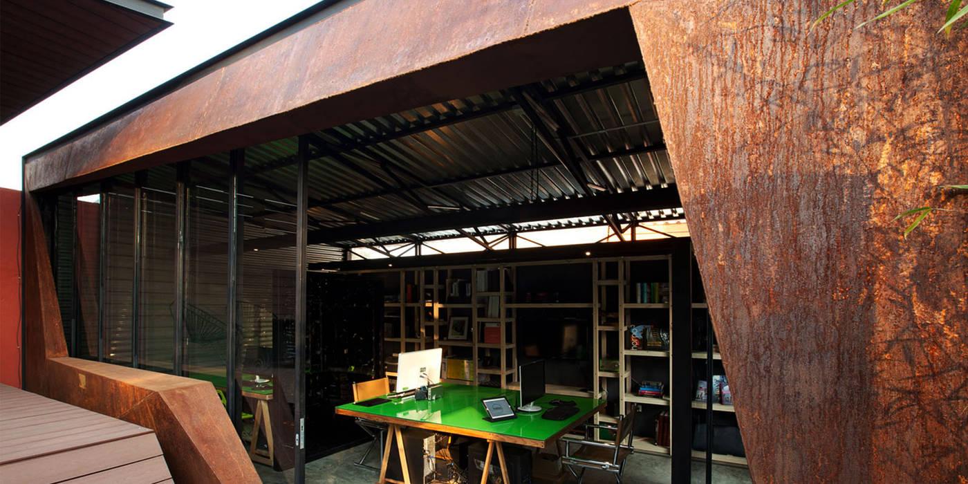 Boutique de Arquitectura (Sonotectura + Refaccionaria) Office spaces & stores