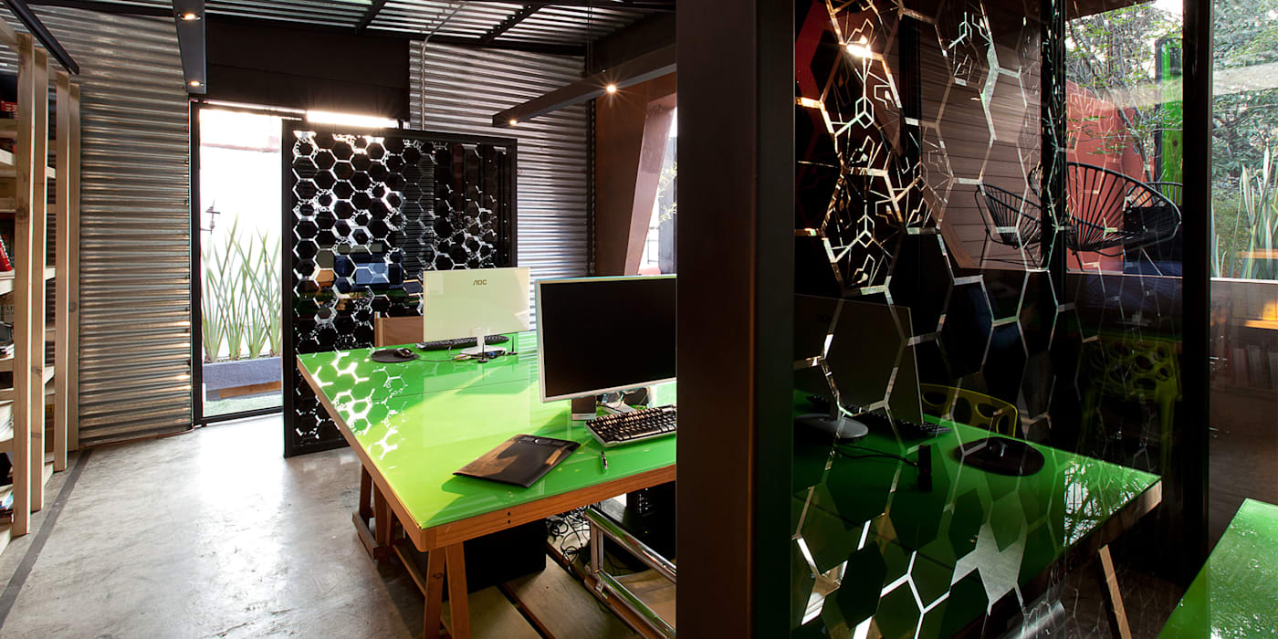 Boutique de Arquitectura (Sonotectura + Refaccionaria) Office spaces & stores