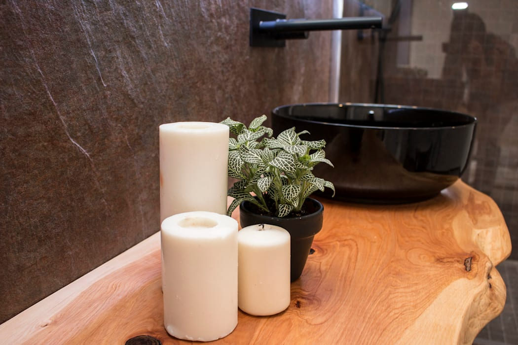 Salle de bain moderne par ORCHIDS LOFT Moderne Ardoise