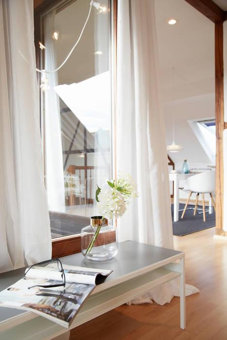 Hell Und Freundlicher Wohnbereich Wohnzimmer Von Home Staging