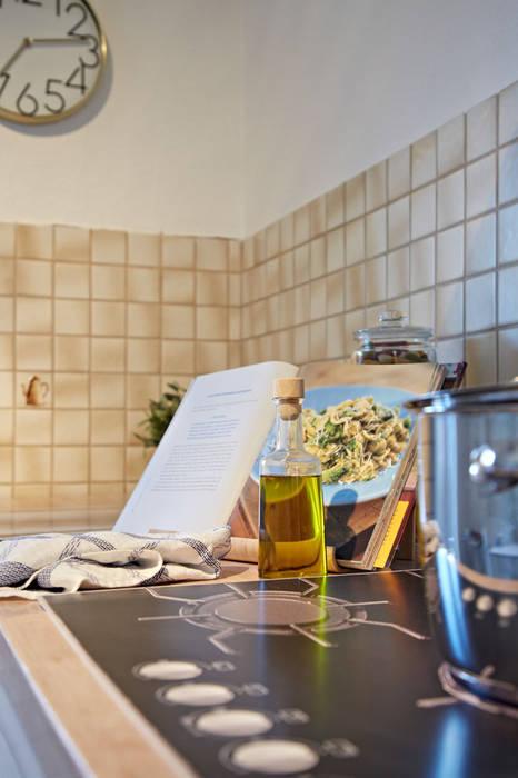 Küche, trotz älterer fliesen ist das erscheinungsbild modern: küche ...