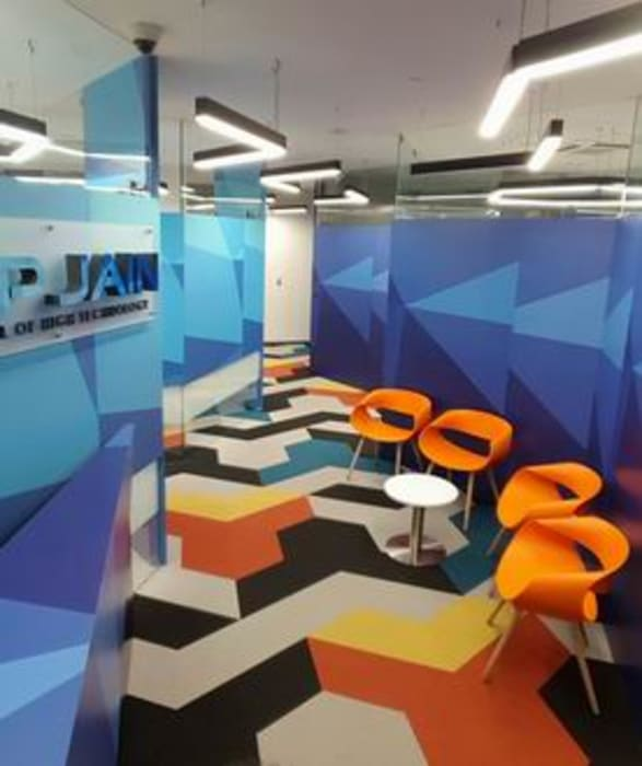 Reception and Waiting Area Studio - Architect Rajesh Patel Consultants P. Ltd Modern schools