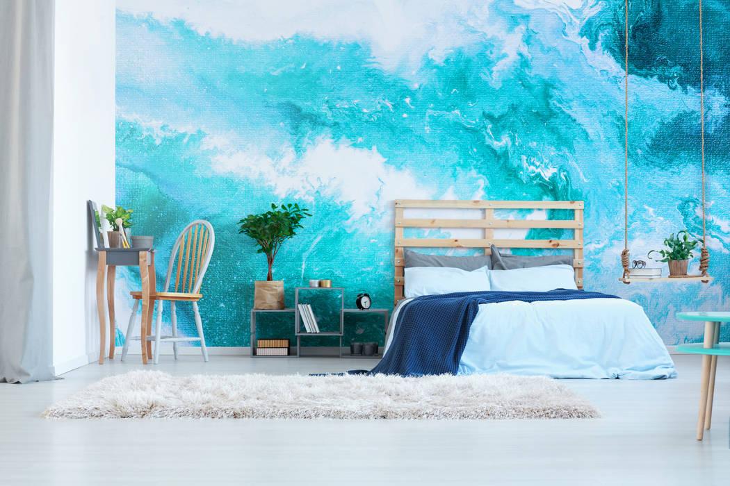 Heavenly Ocean:  Bedroom by Pixers