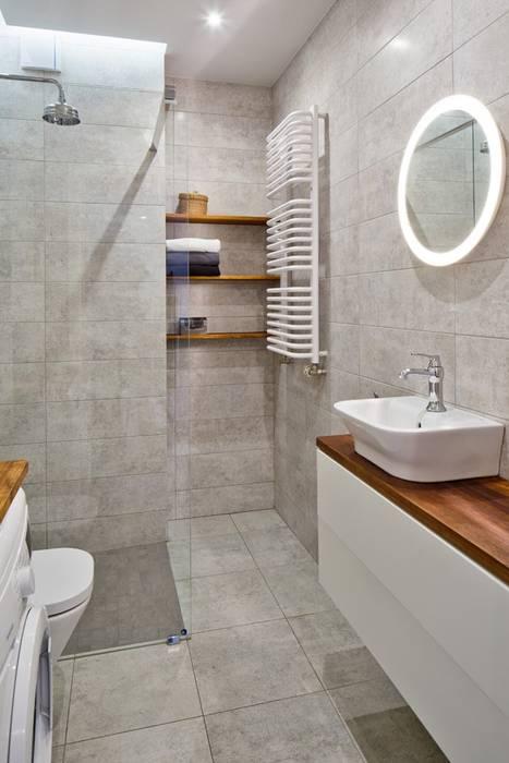 Scandinavian style bathrooms by All Arquitectura Scandinavian Wood Wood effect