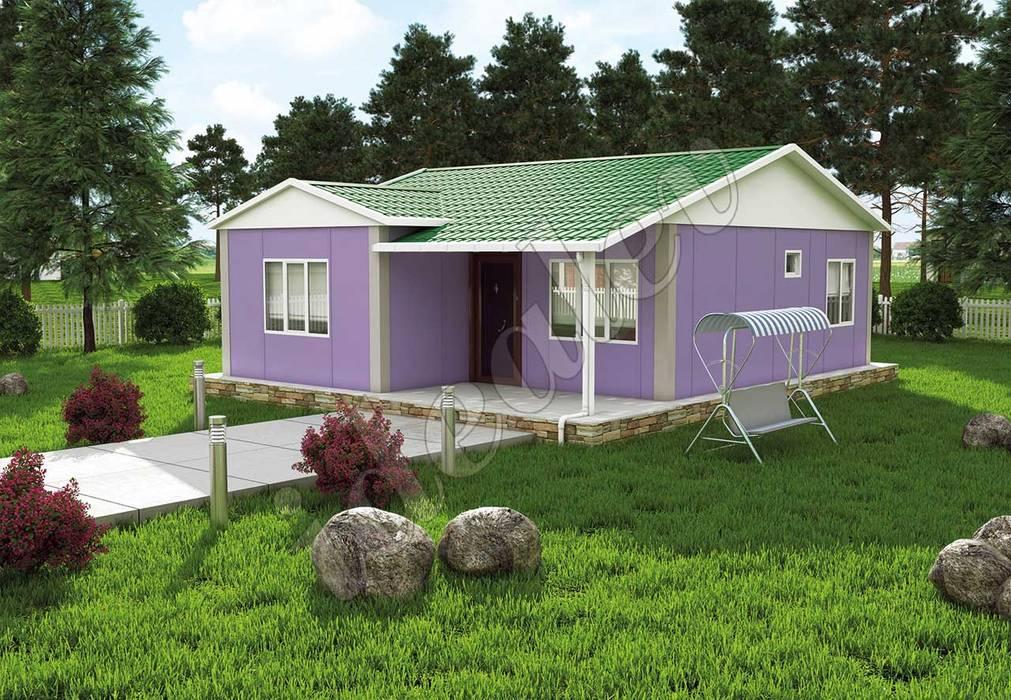 Maisons préfabriquées de style  par homify, Moderne OSB
