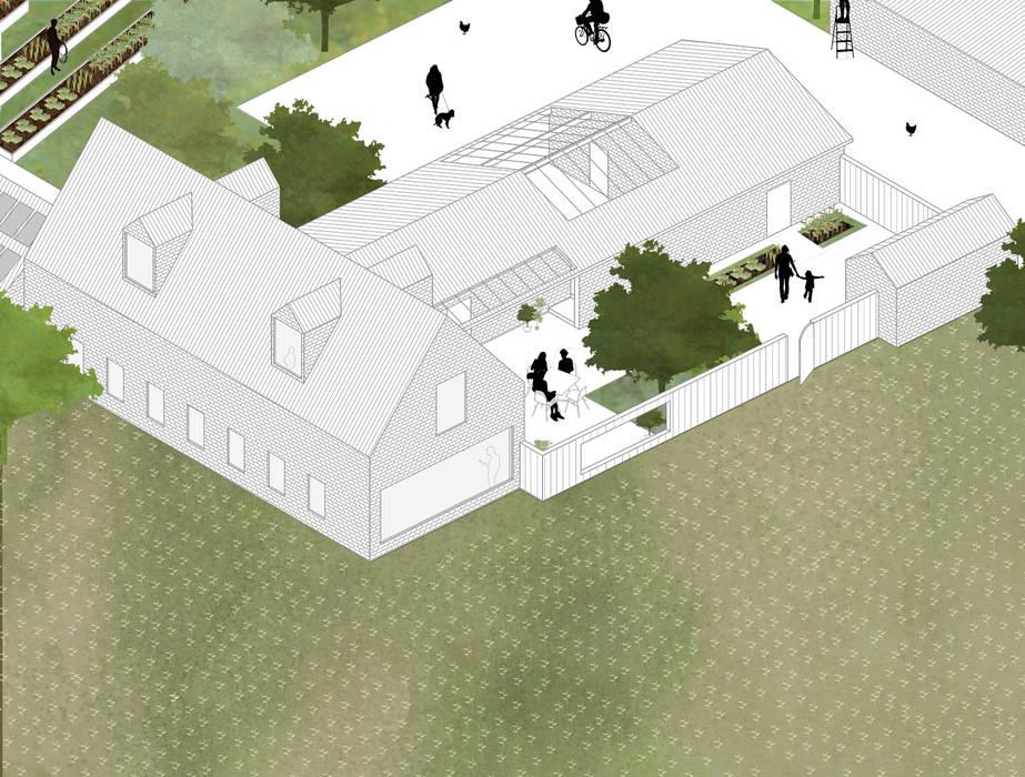 Woonhuis en private tuin van Kevin Veenhuizen Architects