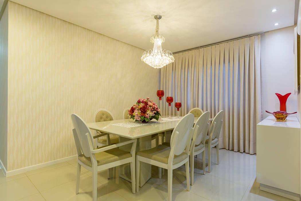 Sala de Jantar DM ARQUITETURA E ENGENHARIA Salas de jantar modernas