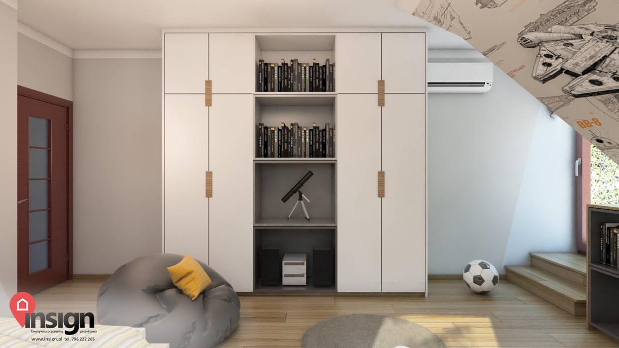 InSign Pracownia Projektowa Karolina Wójcik Modern nursery/kids room
