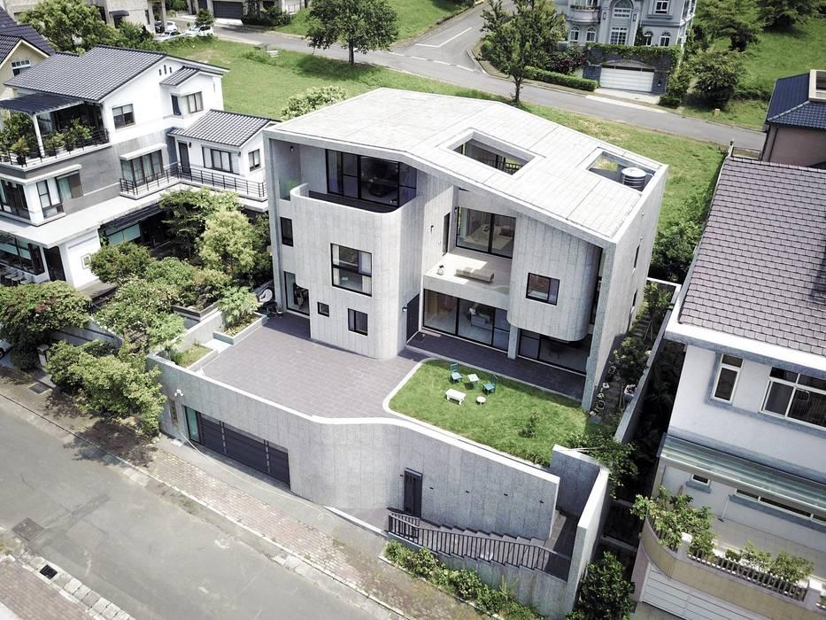 Casas modernas de 行一建築 _ Yuan Architects Moderno