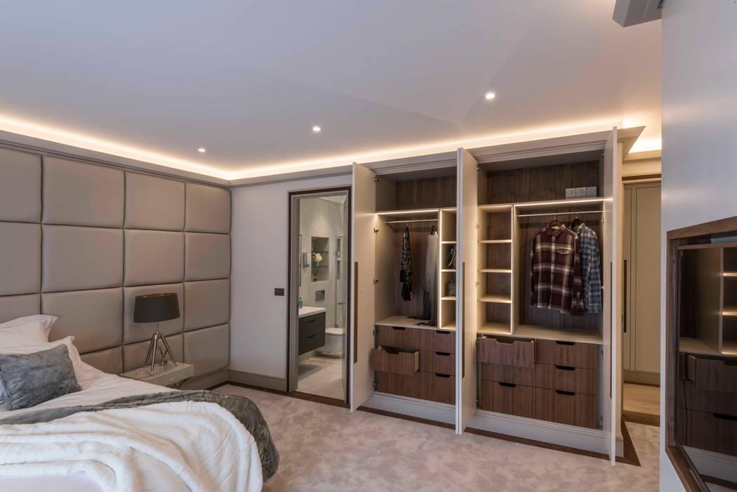 Schlafzimmer von Prestige Architects By Marco Braghiroli,