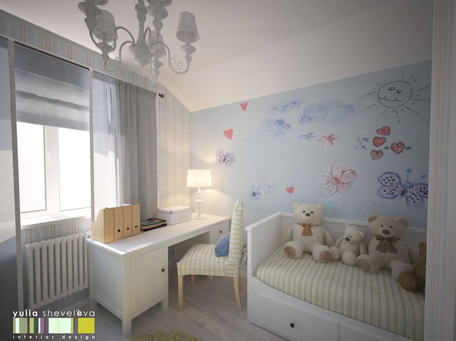 В СТИЛЕ ШЕББИ ШИК : Детские комнаты в . Автор – Мастерская интерьера Юлии Шевелевой