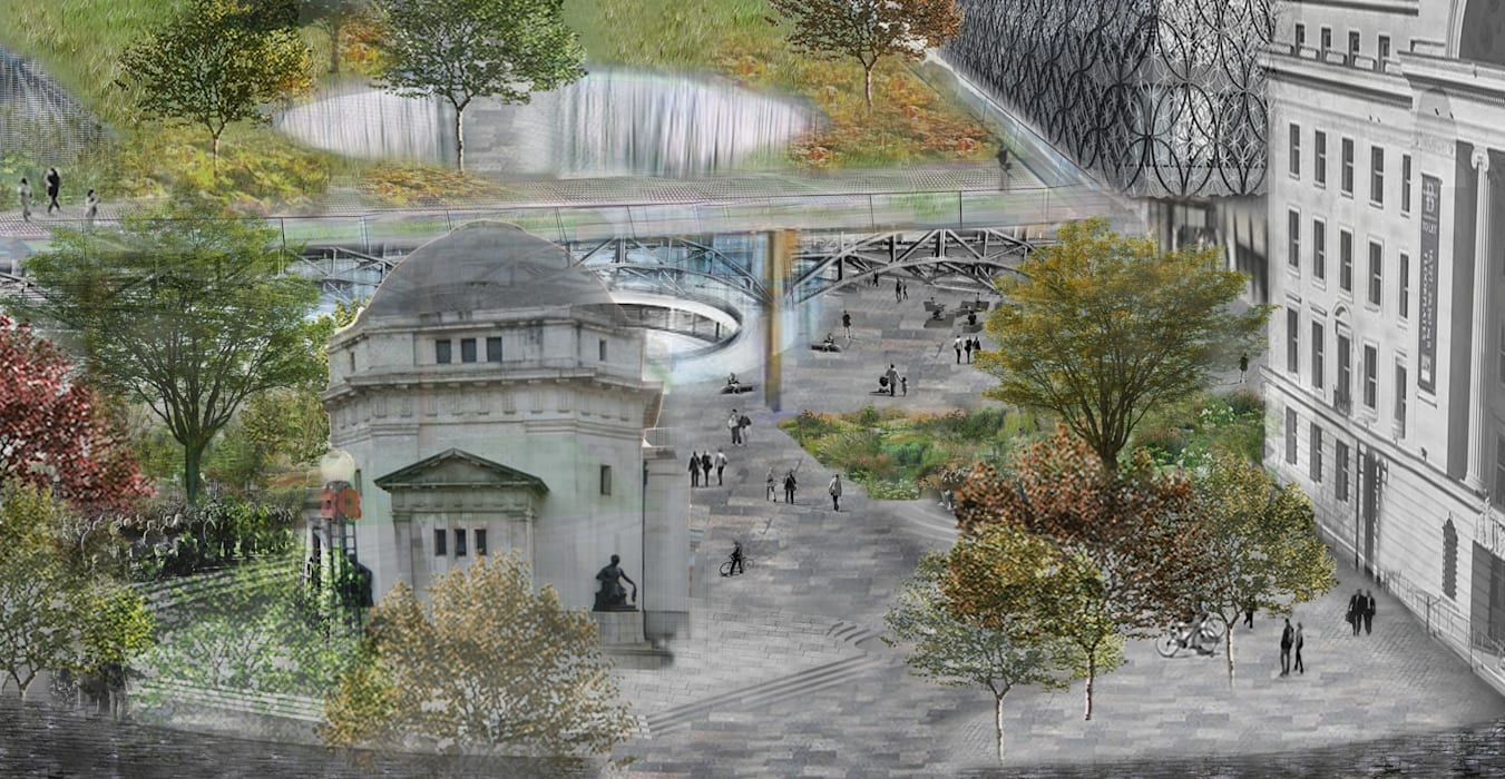Birmingham Centenary Square Competition :  Commercial Spaces by Aralia