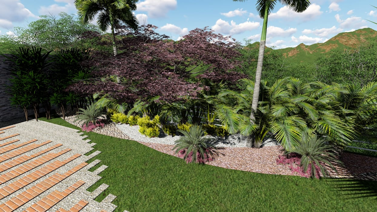 Zen garden by Arquitectura Creativa