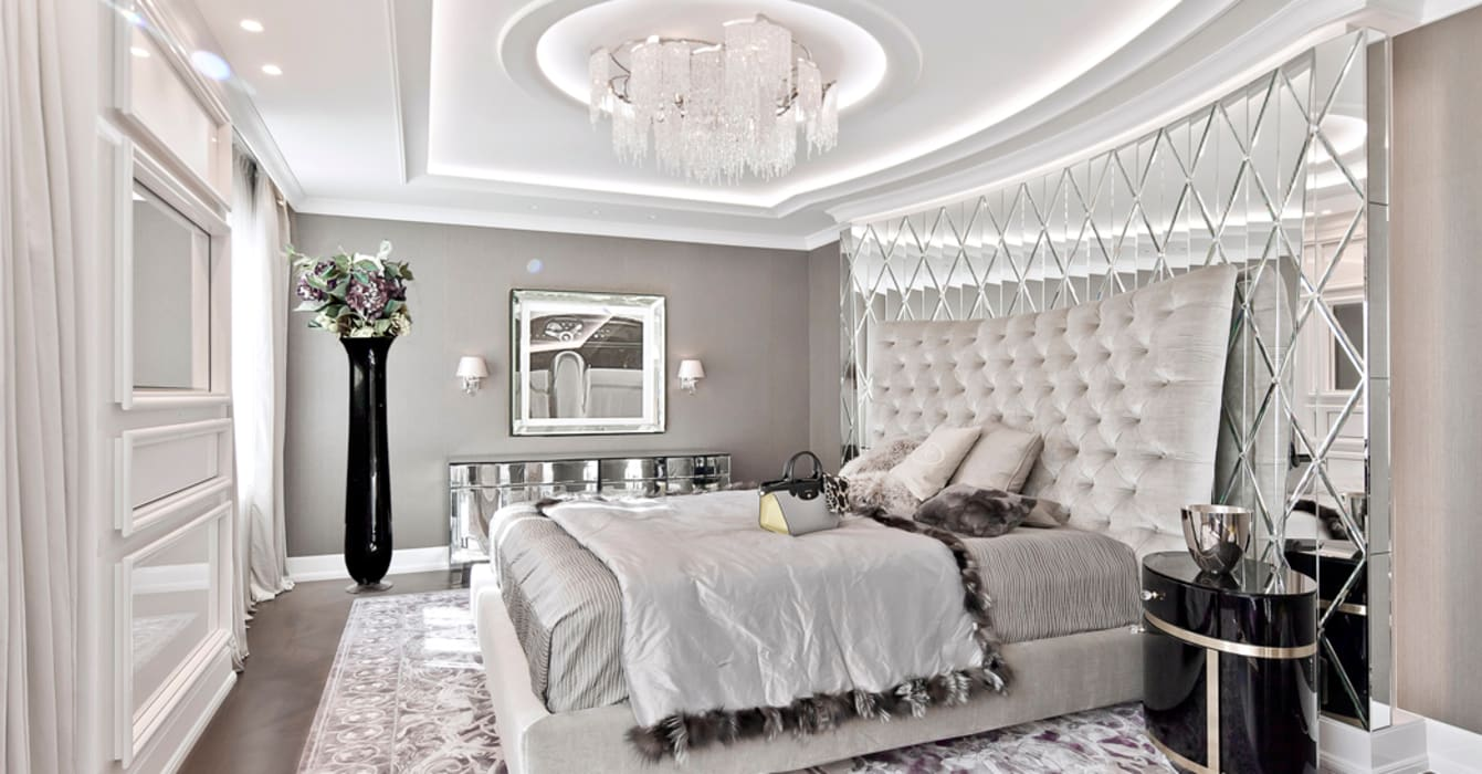Jedem raum seine besonderheit geben....: klassische schlafzimmer von ...