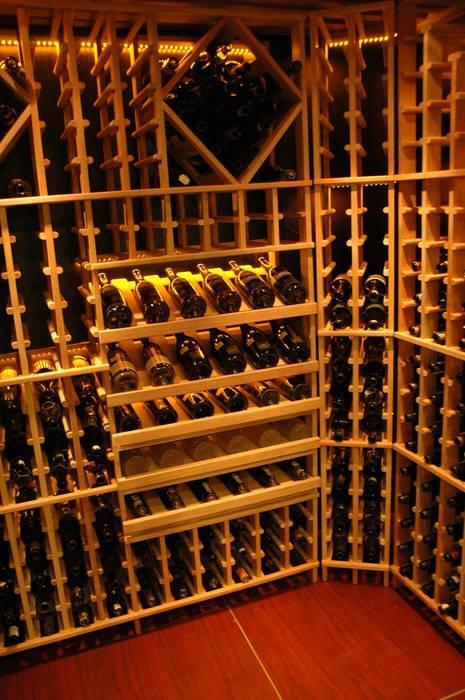 WINE CELLAR AWDS Interior Ruang Penyimpanan Wine/Anggur Modern