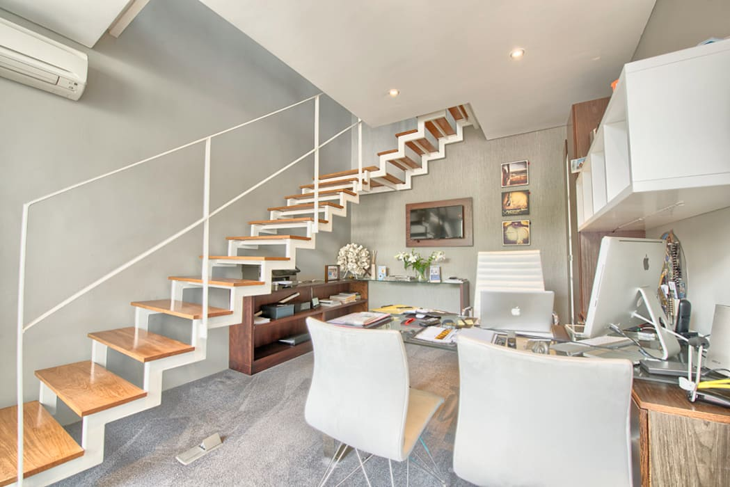 rose st study office by house couture interior design studio homify
