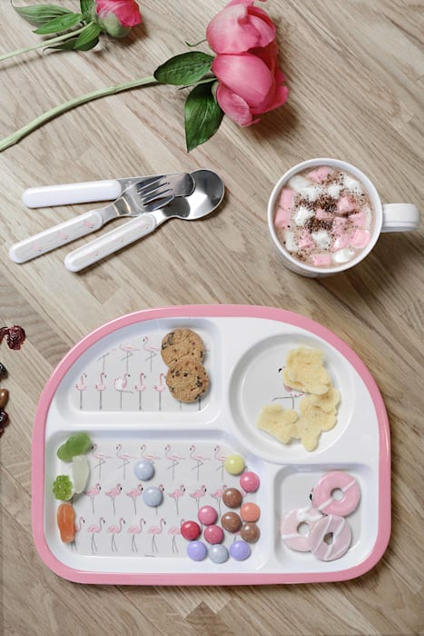 Melamine Childrens Set: country  by Sophie Allport, Country Plastic