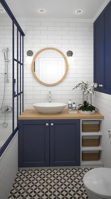 Inspiración para baño de Vero Capotosto Moderno