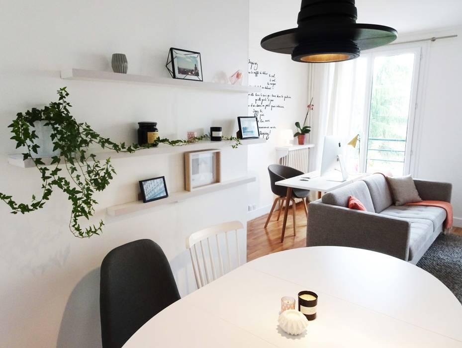 3 pièces - Fontenay-sous-Bois Sandrine Carré Salle à manger scandinave
